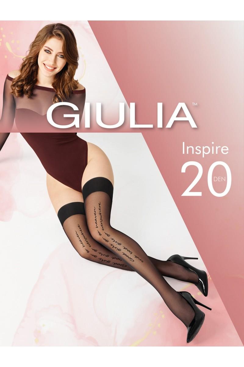 Чулки фантазийные Giulia Inspire 01