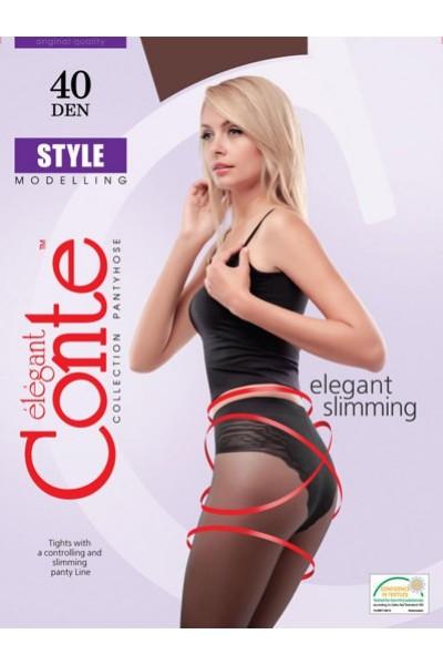 Колготки утягивающие Conte Style 40