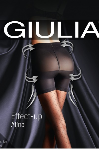 Колготки фантазийные Giulia Effect Up Afina 01