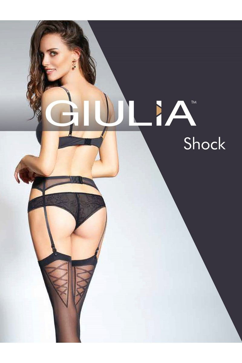 Чулки для пояса Giulia Shock 01