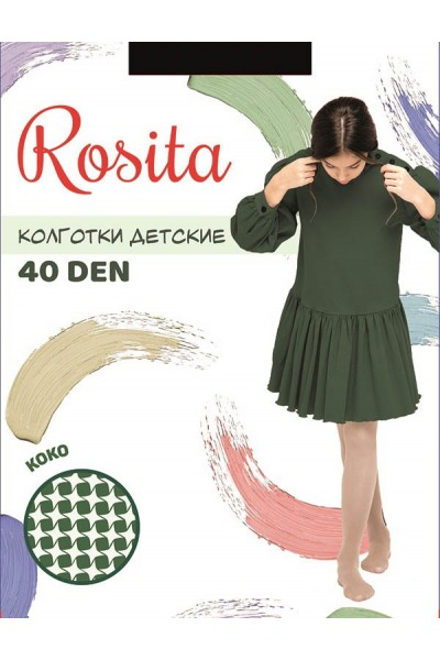 Колготки детские Rosita КоКо 40