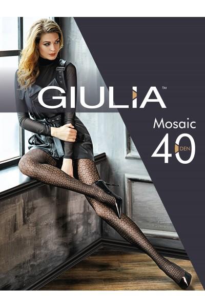 Колготки фантазийные Giulia Mosaic 03