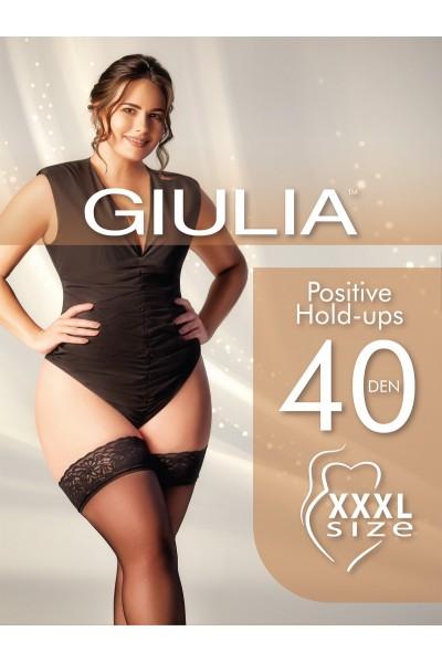 Чулки классические Giulia Positive 40