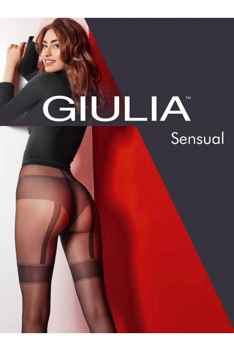 Колготки фантазийные Giulia Sensual 01