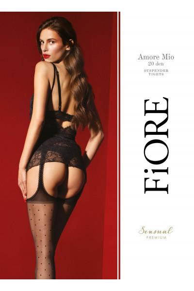 Колготки фантазийные Fiore Amore Mio 20