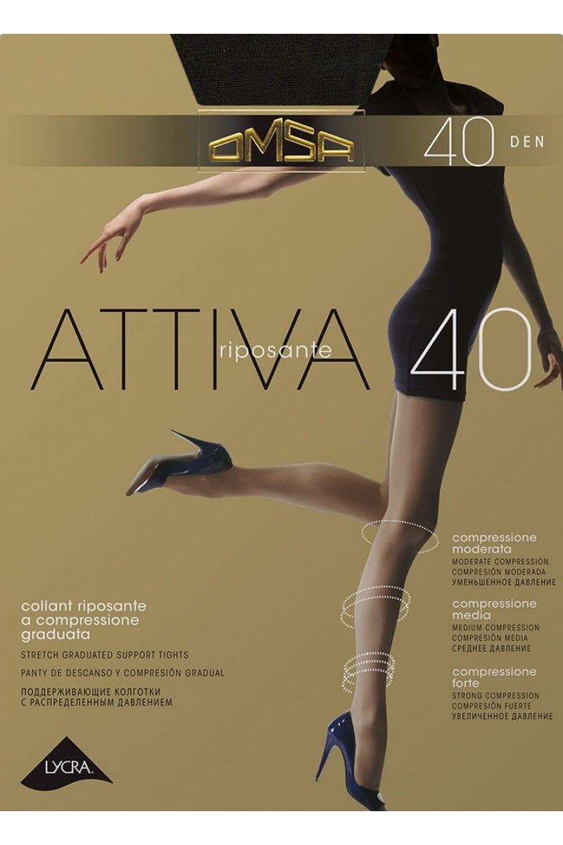 Колготки классические Omsa Attiva 40