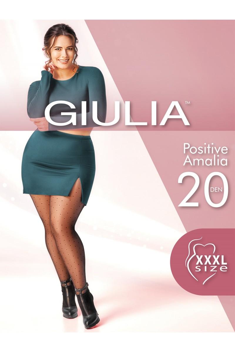 Колготки фантазийные Giulia Positive Amalia 01