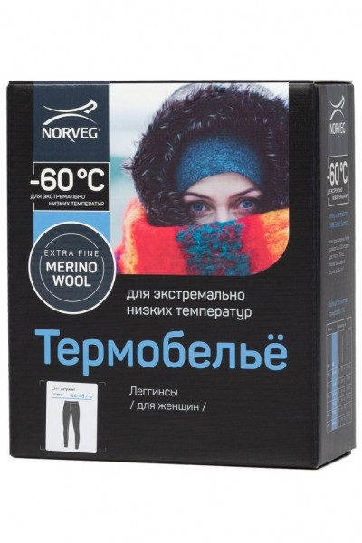 "Термобелье Norveg ""-60"" леггинсы"