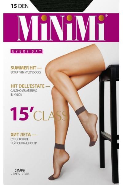 Носки женские Minimi Class 15 (2п.)
