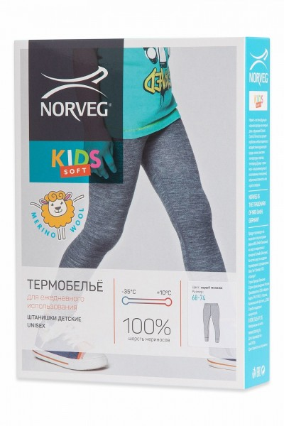 Термобелье Norveg Soft Kids штанишки детские