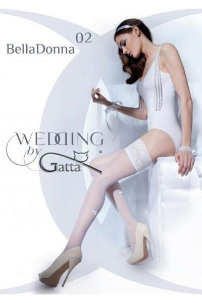 Чулки фантазийные Gatta Bella Donna 02