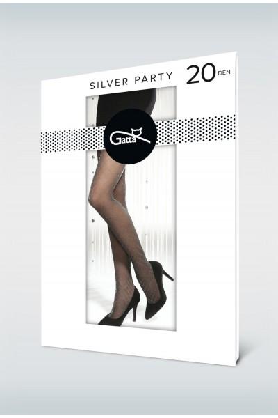 Колготки фантазийные Gatta Silver Party 07