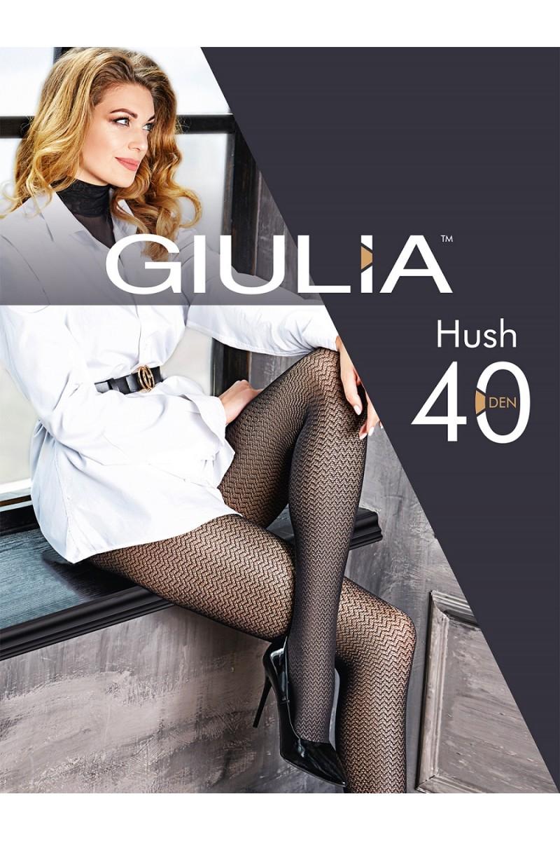 Колготки фантазийные Giulia Hush 02