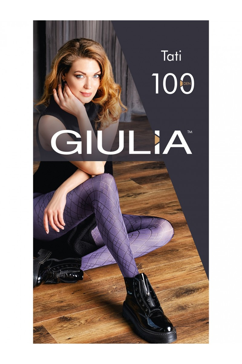 Колготки фантазийные Giulia Tati 01