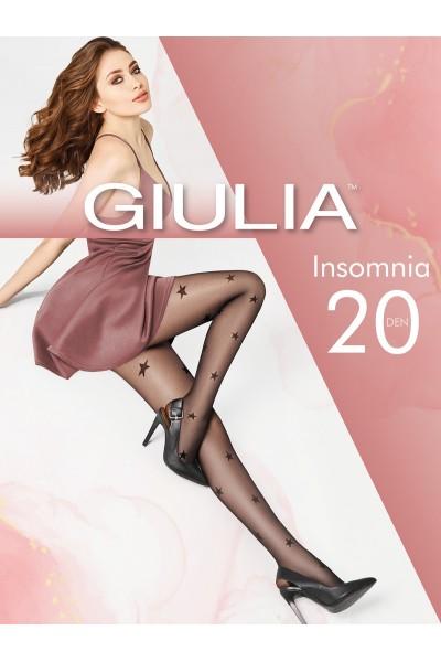 Колготки фантазийные Giulia Insomnia 01