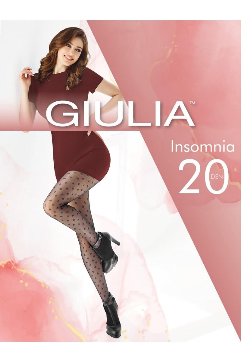 Колготки фантазийные Giulia Insomnia 02