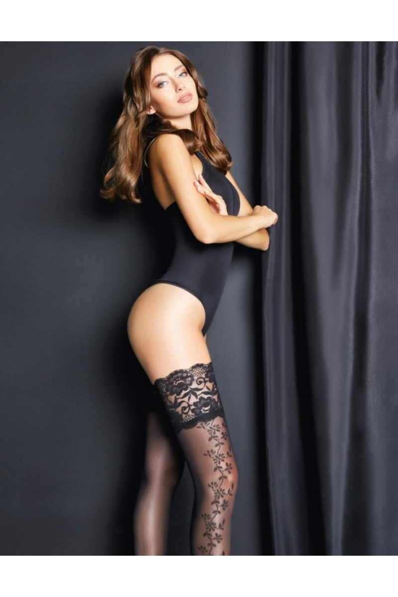 Чулки фантазийные Giulia Deseo 01