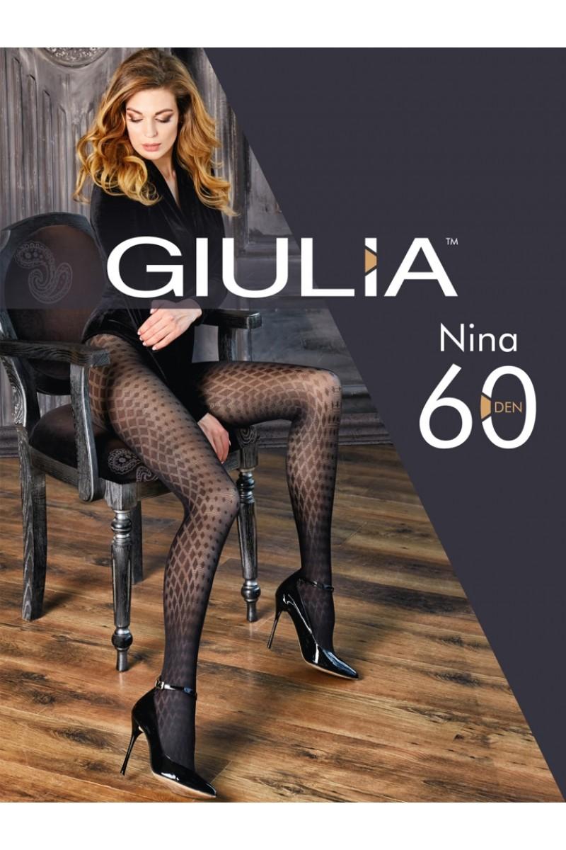 Колготки фантазийные Giulia Nina 02