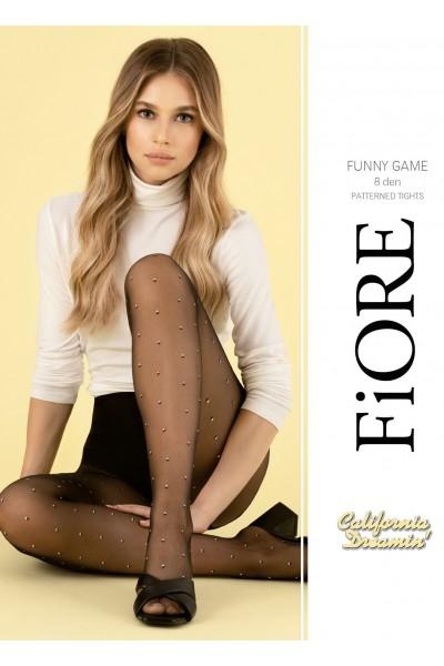 Колготки фантазийные Fiore Funny Game 8