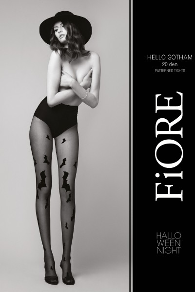 Колготки фантазийные Fiore Hello Gotham 20