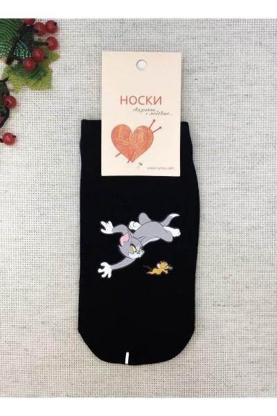 "Носки женские Чулок с рисунком ""Том и Джерри"""