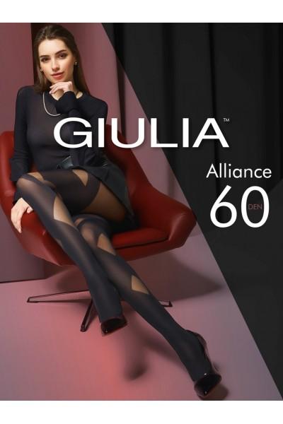 Колготки фантазийные Giulia Alliance 01