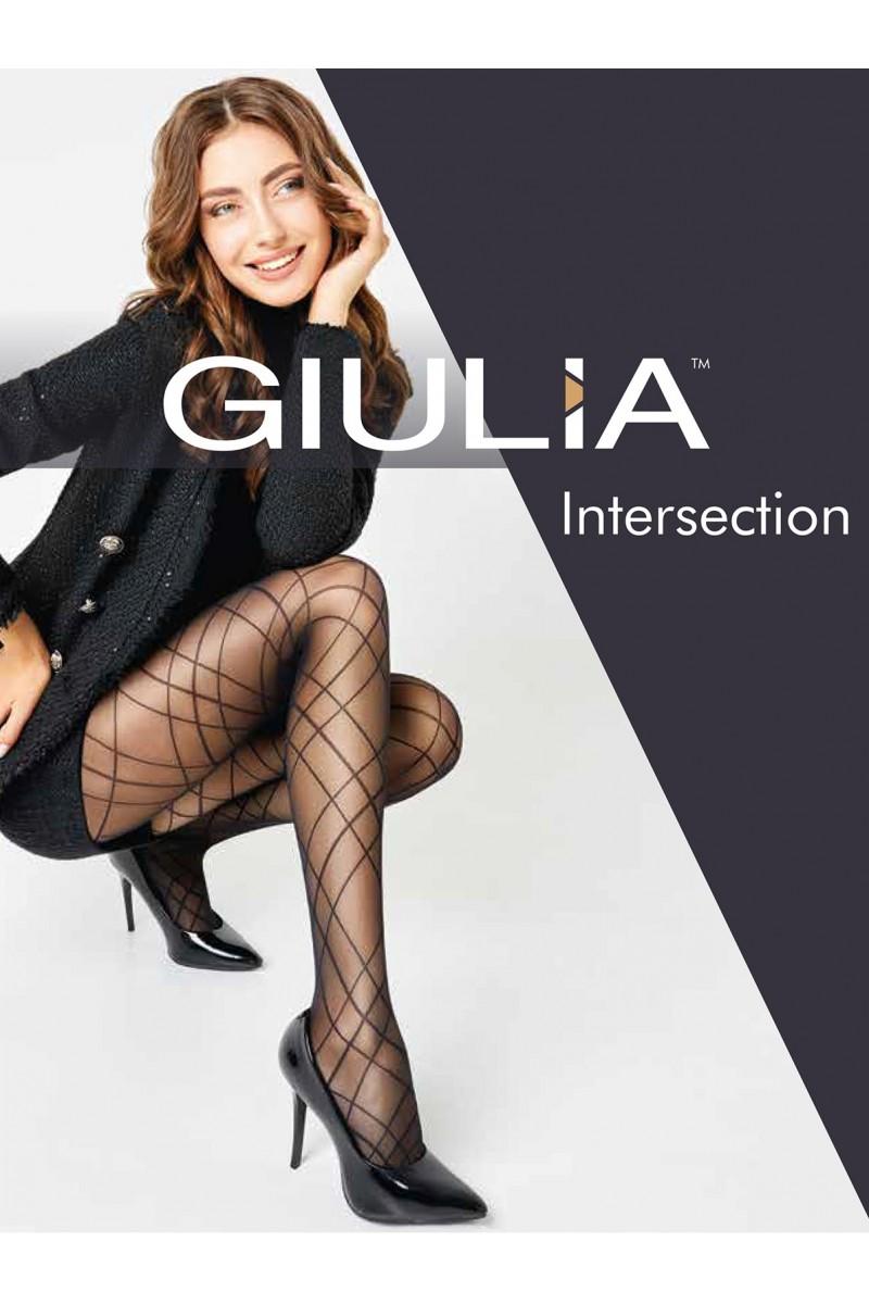 Колготки фантазийные Giulia Intersection 01