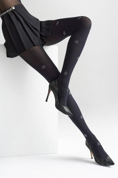 Колготки фантазийные Marilyn Allure W12