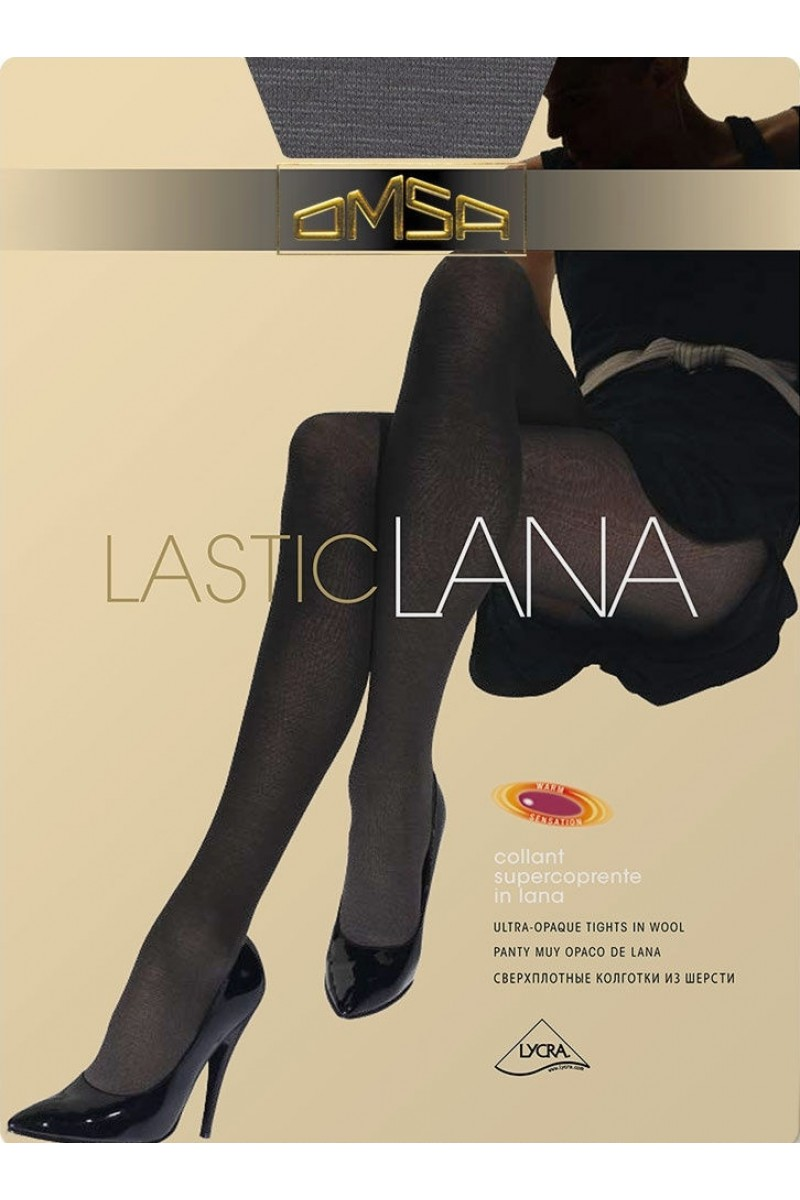 Колготки классические Omsa Lastic Lana