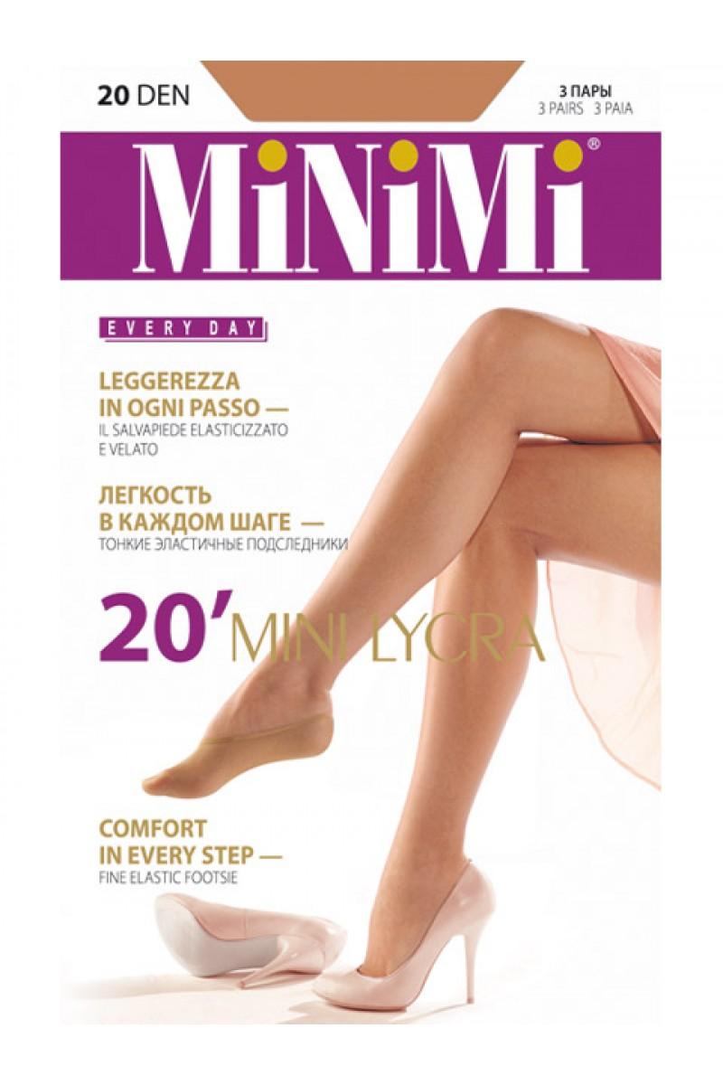 Подследники Minimi Mini 20 Lycra New (2п)