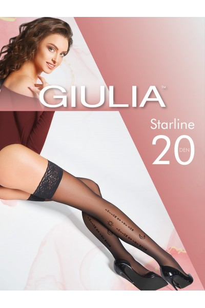 Чулки фантазийные Giulia Starline 01