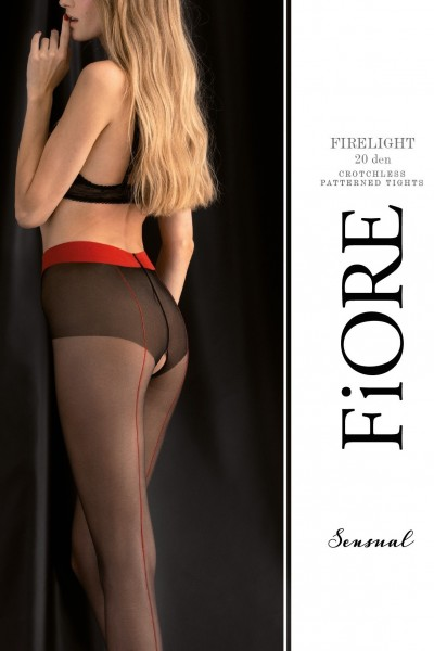 Колготки фантазийные Fiore Firelight 20